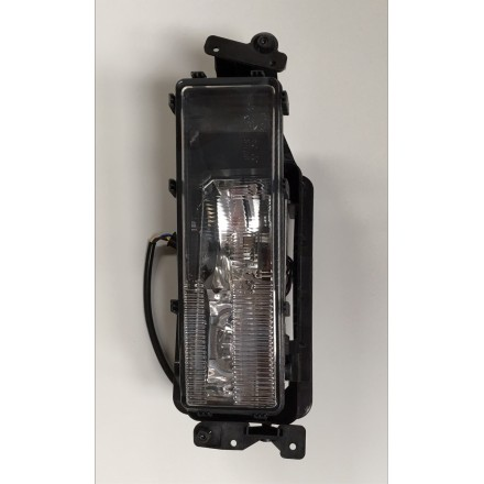 Man Clear Glass Fog Lamp L/H