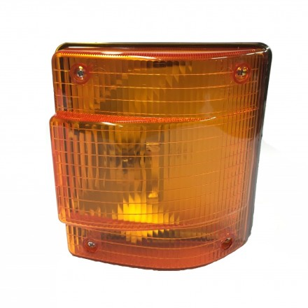 Man Round Flasher Lamp